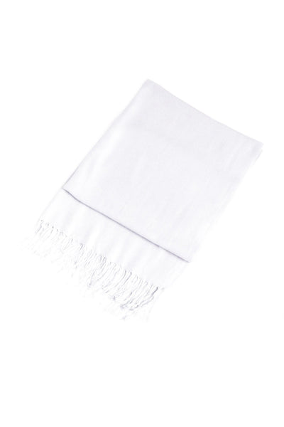 "group-White (Sakkas 78"" X 28"" Rayon from Bamboo Soft Solid Pashmina Feel Shawl / Wrap / Stole)"
