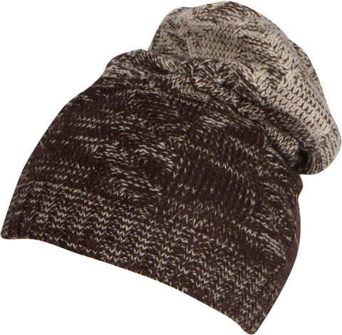 Sakkas Nils Slouchy Beanie Hat Warm and Cozy Heather and Patterned