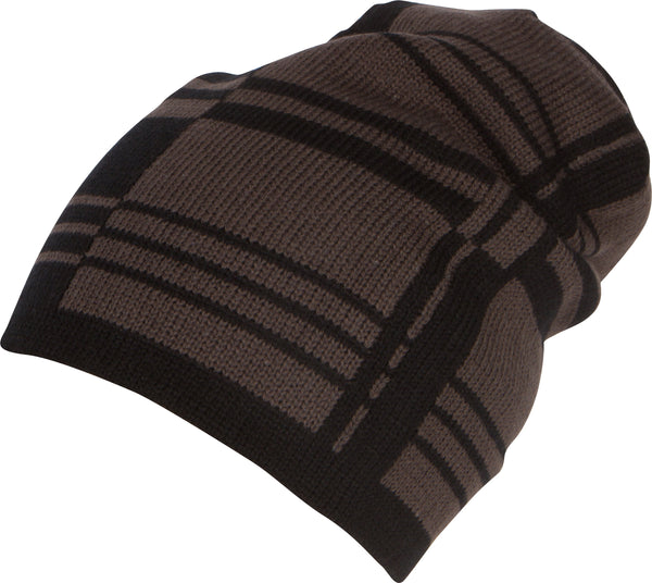 Sakkas Remi Slouchy Beanie Knit Hat Warm Simple and Classic#color_1766-black