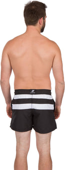 Sakkas Kaiko Striped Stretch Waistband No Wet Swim Trunk/ Boardshorts