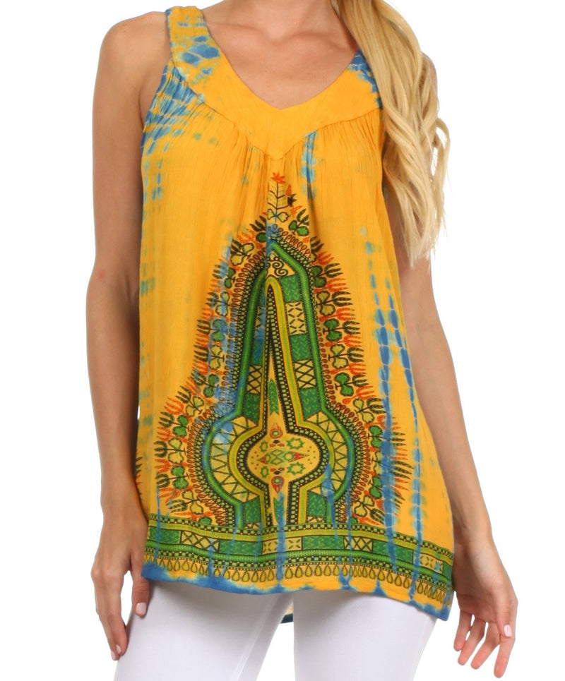 Sakkas Bohemian Spirit Relaxed Fit Blouse