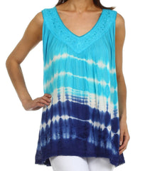 Sakkas Dakota Sky Sleeveless Blouse