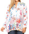 Sakkas Ditta Women's Casual Loose Long Sleeve Print Button Down Shirt Tunic Blouse#color_FM214-Multi