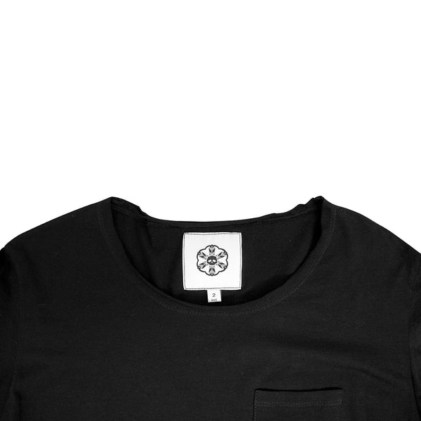 Batā Pocket T-Shirt - Black