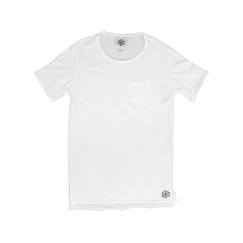 Batā Pocket T-Shirt - White