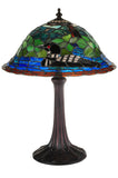 Rustic Lodge Wildlife Loon Table Lamp