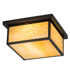 "14""Sq Hyde Park Prime Outdoor Flushmoun"