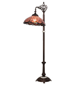 "60""H Elan Bridge Arm Floor Lamp"