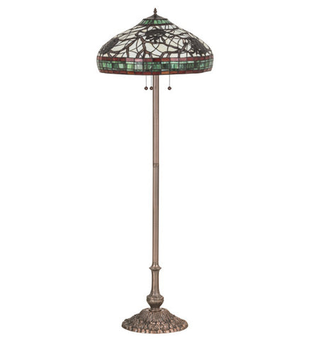 63h pinecone tiffany rustic lodge floor lamp contact us best price 63h pinecone tiffany rustic lodge floor lamp mozeypictures Choice Image
