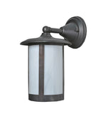 "8""W Fulton Solid Mount Outdoor Wall Sconce"