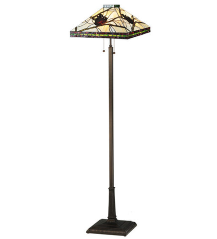 60h pinecone mission tiffany lodge floor lamp add to your decor 60h pinecone mission tiffany lodge floor lamp mozeypictures Choice Image