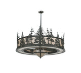 "44""W Tall Pines W/Fan Light Chandel-Air Fan"