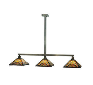 "63""L Neuvo Mission 3 Lt Kitchen Island Lighting"