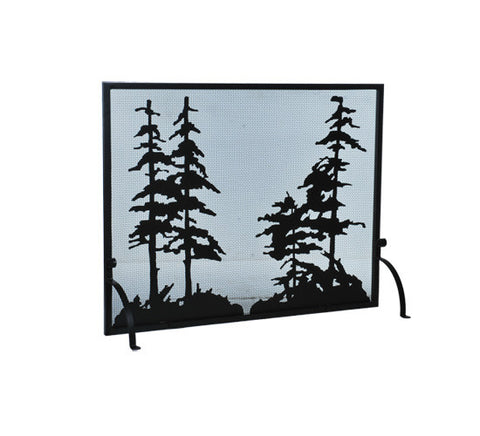 "50""W X 38""H Tall Pines Fireplace Screen"
