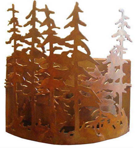 "10""W Tall Pines Wall Sconce"