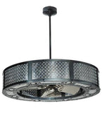 "44""W Diamond Turbine Chandel-Air Ceiling Fan"