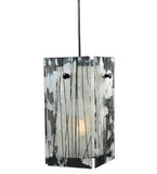 "5""Sq Metro Branches Quadrato Contemporary Pendant"