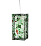 "5""Sq Metro Parade Quadrato Contemporary Pendant"
