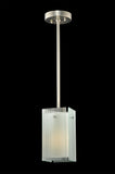 "5""Sq Metro Reeded Quadrato Mini Pendant"