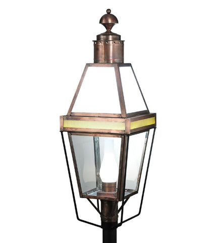 "15""Sq Hancock Lantern Post Mount"