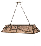 "60""L Golf Island/Billiard Oblong Pendant 