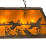 "48""L Ducks in Flight Wildlife Island/Billiard"