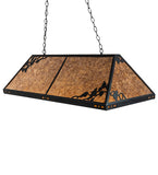 "52""L Ivy Island/Billiard Rustic Lodge Pendant 