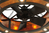 "44.5""W Mission Hill Top Chandel-Air Ceiling Fan"