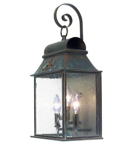"10""W Bastille Outdoor Wall Sconce"