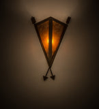 "12""W Desert Arrow Southwest Sconce"