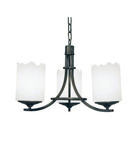 "20""W Octavia 3 Lt Traditional Chandelier"