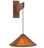 "7""W Cantilever Mission Lodge Wall Sconce"