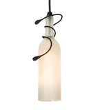"36""L Tuscan Vineyard 3 Lt Wine Bottle Island Pendant"