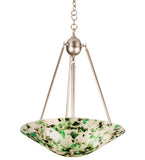 "20.5""W Metro Fusion Tossalad Contemporary Inverted Pendant"