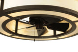 "45""W Sargent Meyda Chandel-Air Ceiling Fan"