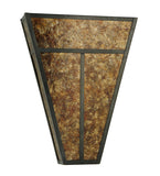 "14""W ""T"" Mission Wall Sconce"