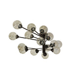 "64""L Galaxy 15 Lt Contemporary Oblong Chandelier"
