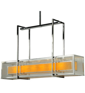 "54""L Quadrato Lange Contemporary Oblong Pendant"