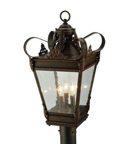 "12.5""Sq Verona Victorian Post Mount"