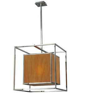 "22""Sq Kitzi Box Contemporary Pendant"