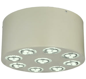 "12""W Discovery LED Modern Flushmount"