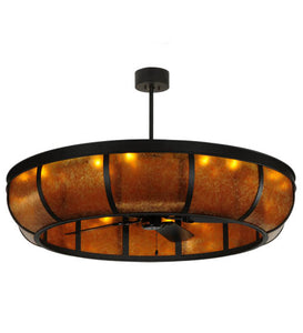 "56""W Prime Dome W/Uplights Chandel-Air Fan 