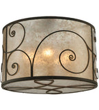 "30""W Granada Victorian Flushmount 