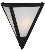 "14""W Mission Point Wall Sconce"