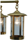 "30""W Craftsman Signature Fulton Prime Lodge Chandelier"
