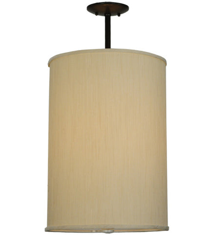 "14.5""W Cilindro Mystic Beige Traditional Pendant"