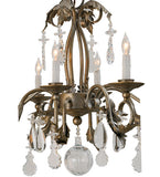 "44""L Windsor 8 Lt Oblong Victorian Chandelier"