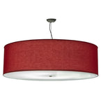 "47""W Cilindro Play Textrene Modern Pendant 