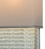 "15""W Francesca W/Crystals Glam Wall Sconce"
