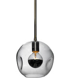 "8.5""W Deformado Globe Contemporary Mini Pendant"